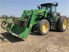 2008 John Deere 7930 MFWD Tractor W/Loader