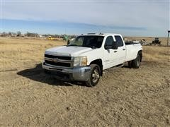 2008 Chevrolet 3500 4x4 Crew Cab Dually Pickup