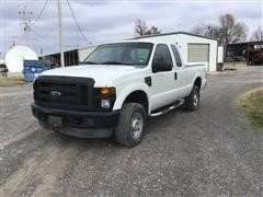 2009 Ford F250 Super Duty 4x4 Extended Cab Pickup