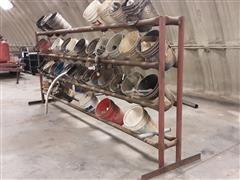 Parts Rack & Supplies