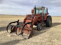 1979 Massey Ferguson 2675 2WD Tractor W/Loader (TRANS INOPERABLE)