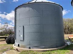 York 7000 Bushel Grain Bin