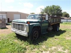 1977 Ford F600 Heil Dump Truck