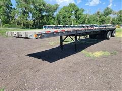 1994 Wilson CF-900 T/A Flatbed Trailer