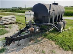 Schaben 1000-Gal T/A Nurse Tank Trailer