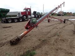 """Feterl 8""""X55' Auger W/10Hp Electric 230 Volt Motor"""