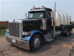 2003 Peterbilt 379 T/A Fertilizer Tanker Truck