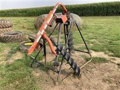 Rhino HPHD Post Hole Digger With Stand