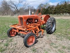 1953 Allis-Chalmers WD45 2WD Tractor W/Cultivator