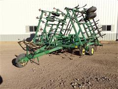 1994 John Deere 980 Field Cultivator 30' W/3 Bar Harrow