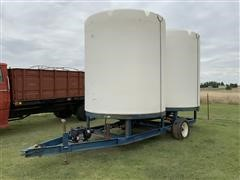 J D Skiles Fertilizer Tanks & Trailer