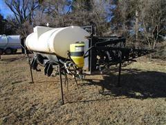 Wylie 3-Pt Sprayer W/60' Booms & 500 Gal Tank