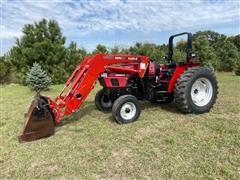 1999 Case IH C80 2WD Tractor & L550 Case IH Loader