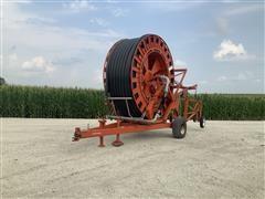 Abi D1-110 D1-110 Irrigation Reel Traveler W/Big Gun P200 On Irrifrance Trailer