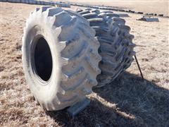 Firestone /Titan Super All Traction/Hi Traction Lug 23.1x26 Bar Tires