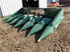 John Deere 643 6RN Corn Head W/Clarke Machine Poly