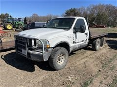 2004 Ford F250 4x4 Flatbed Pickup