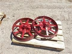 Farmall Antique Steel Wheels