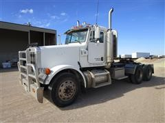 2005 Peterbilt 378 T/A Truck Tractor W/Wet Kit