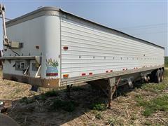 1983 Timpte 42' Super Hopper T/A Grain Trailer