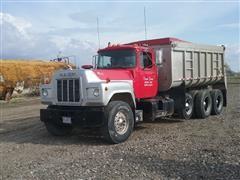 1985 Mack Tri/A Dump Truck