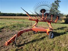 KUHN SR110 SpeedRake Wheel Rake