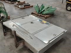 Ace Standing Aluminum Toolbox