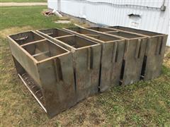 Stainless Steel Hog Confinement Feeders