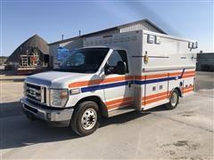2010 Life-Line Emergency Ford E3FY Ambulance