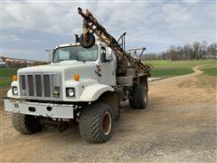 1991 International 2554 Floater Sprayer Truck