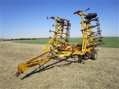 Kent 6327 Field Cultivator W/3 Bar Harrow