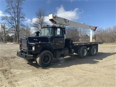 1988 Mack DM600 T/A Boom Truck