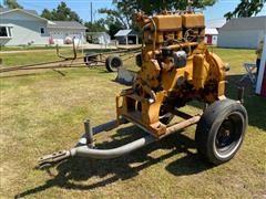 Minneapolis-Moline 403-4A Power Unit On Cart