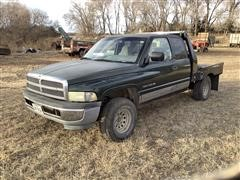 1997 Dodge 1500 4x4 Pickup W/Flatbed