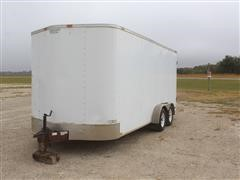2005 Forest River Continental T/A Enclosed Cargo Trailer