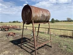 Fuel Barrel W/Stand