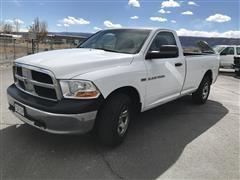 2012 Dodge RAM 1500 4x4 Pickup