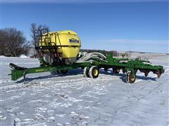 "2012 John Deere 2510H & 2510DH Dual Placement Soil Management System 15R30"" Anhydrous & Dry Fertilizer Applicator"