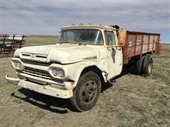1960 Ford F600 Manure Spreader Truck