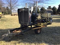 Chevrolet 454 Propane Irritation Power Unit On Cart