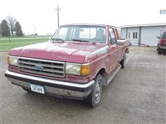 1989 Ford F150 Extended Cab Pickup