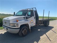2004 Chevrolet C4500 S/A Flatbed Dump Truck