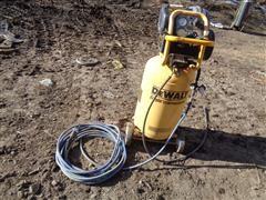 DEWALT 15-Gallon Portable Shop Air Compressor