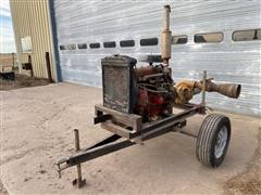 Ford Power Unit W/Pump On Cart
