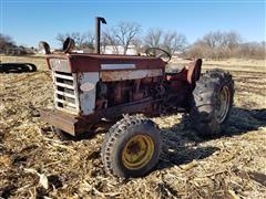 1960 International 460 2WD Utility Diesel Tractor (INOPERABLE)