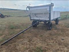 Drawn Hay Wagon
