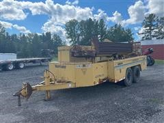 1995 Vermeer D7/10T Directional Drill On Trailer