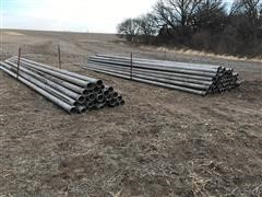 """6"""" X 30' Long Gated Irrigation Pipe"""