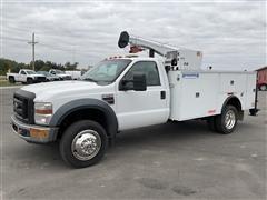 2008 Ford F550 XL Super Duty 2WD Mechanics Truck