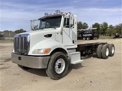 2007 Peterbilt 340 T/A Cab & Chassis